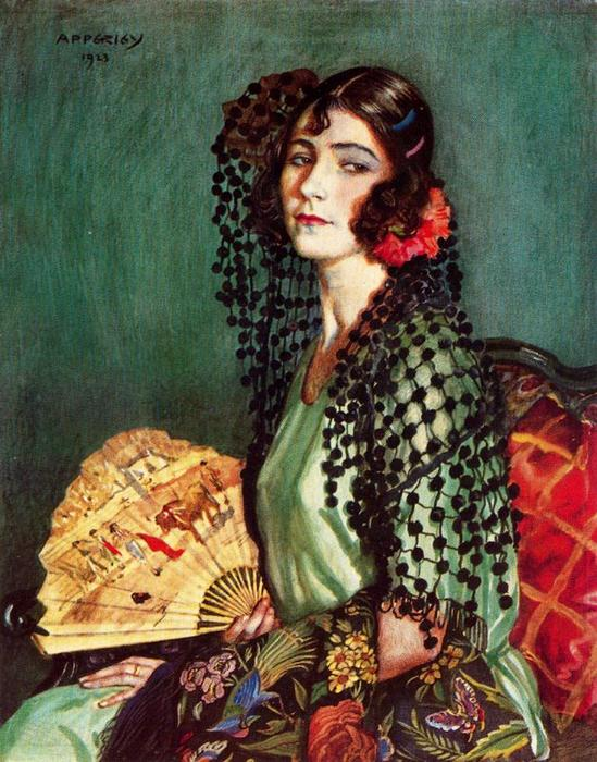 恩里克塔CON TOCA德madroños 通过 Jorge Apperley (George Owen Wynne Apperley) (1884-1960, United Kingdom)