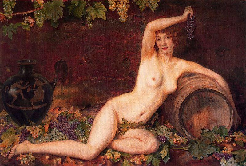 的  精神  的 `vineyard` 通过 Jorge Apperley (George Owen Wynne Apperley) (1884-1960, United Kingdom) | ArtsDot.com