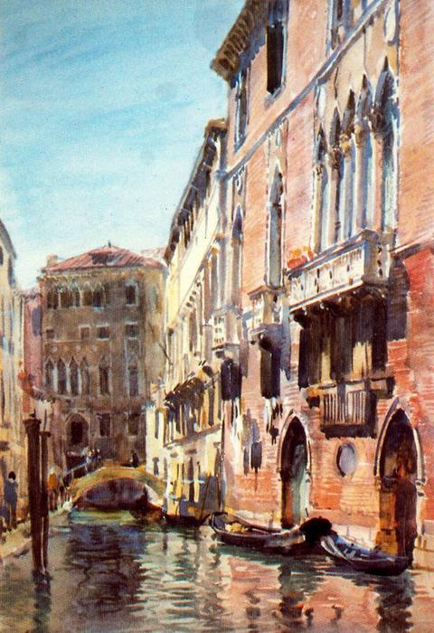 Venice 2 通过 Jorge Apperley (George Owen Wynne Apperley) (1884-1960, United Kingdom)