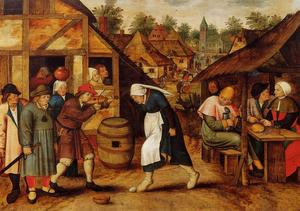 Pieter Bruegel The Younge.. -  的 蛋 舞蹈