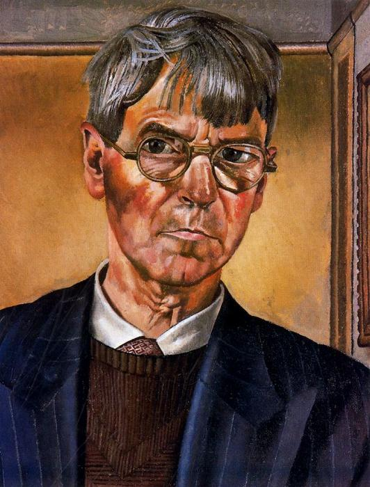 自拍 通过 Stanley Spencer (1891-1959, United Kingdom) | ArtsDot.com