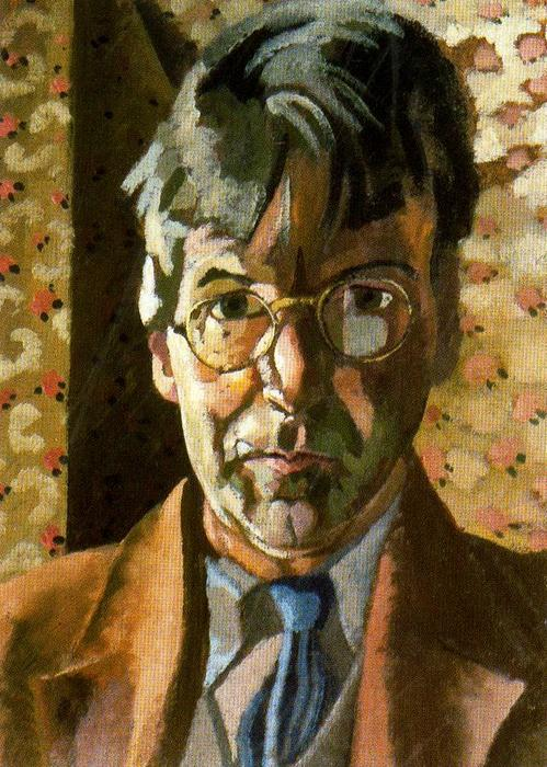 Self-Portrait 3 通过 Stanley Spencer (1891-1959, United Kingdom) | 幀打印 | ArtsDot.com
