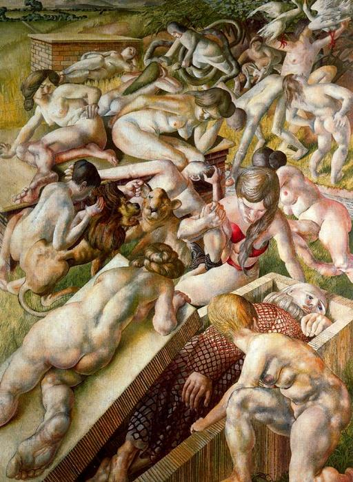 指数Sintítulo1 通过 Stanley Spencer (1891-1959, United Kingdom) | ArtsDot.com