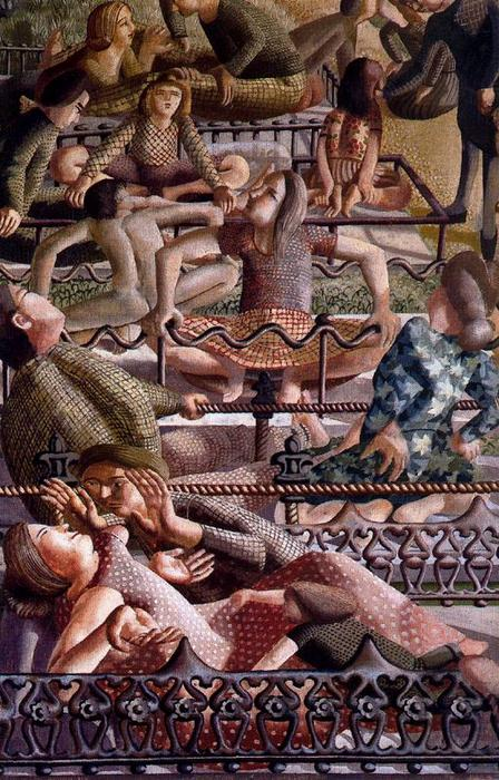 复活。团圆 通过 Stanley Spencer (1891-1959, United Kingdom) | ArtsDot.com