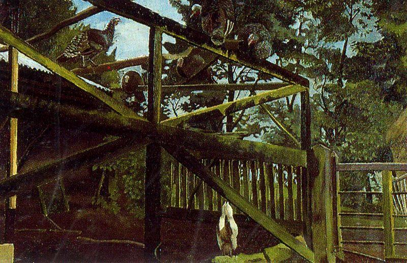 火鸡 通过 Stanley Spencer (1891-1959, United Kingdom)