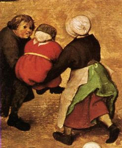 Pieter Bruegel The Elder - 儿童 游戏 详细  22