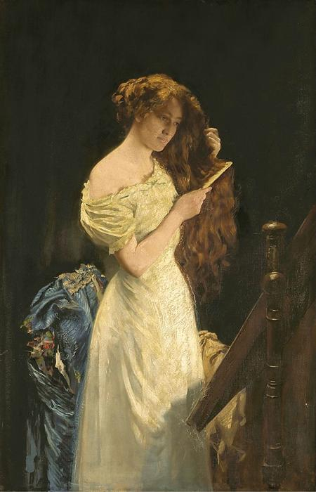 女大十八变的荣耀 通过 Thomas Benjamin Kennington (1856-1916, United Kingdom) | 幀打印 | ArtsDot.com
