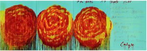 Cy Twombly - 玫瑰(II)