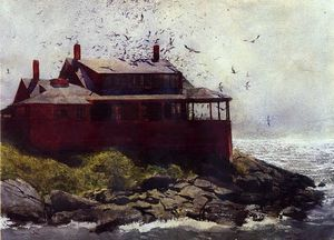 Jamie Wyeth -  红色  家