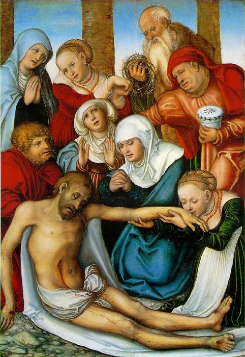 诉苦, 1538 通过 Lucas Cranach The Elder (1472-1553, Germany)