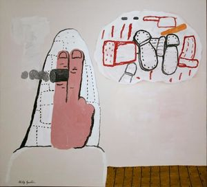 Philip Guston - 白日梦