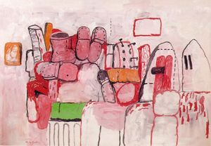 Philip Guston - 天  工作