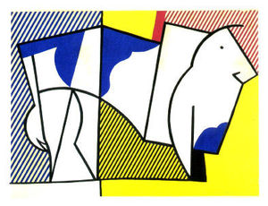 Roy Lichtenstein - 公牛 ㈢