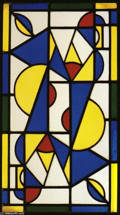 我的舞蹈, 1917 通过 Theo Van Doesburg (1883-1931, Netherlands)