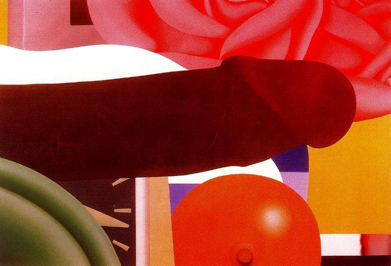 卧室 画  通过 Tom Wesselmann (1931-2004, United States)