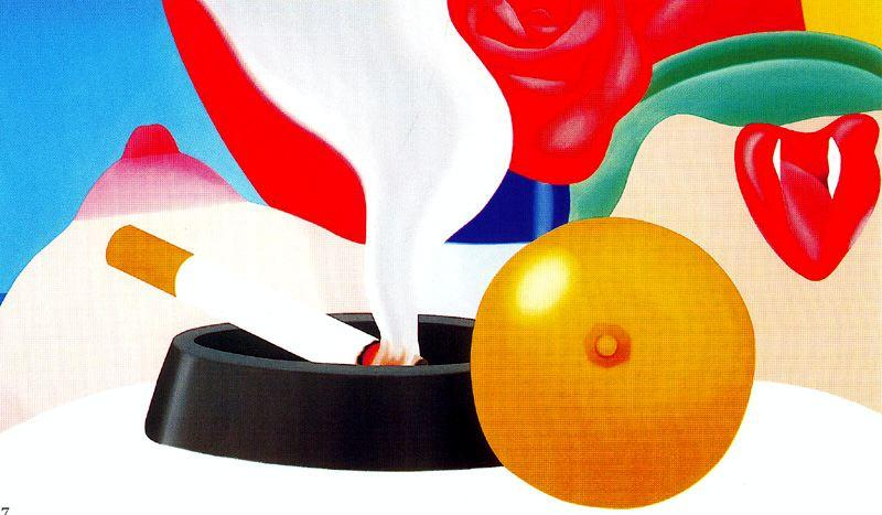 卧室 画  8   通过 Tom Wesselmann (1931-2004, United States)
