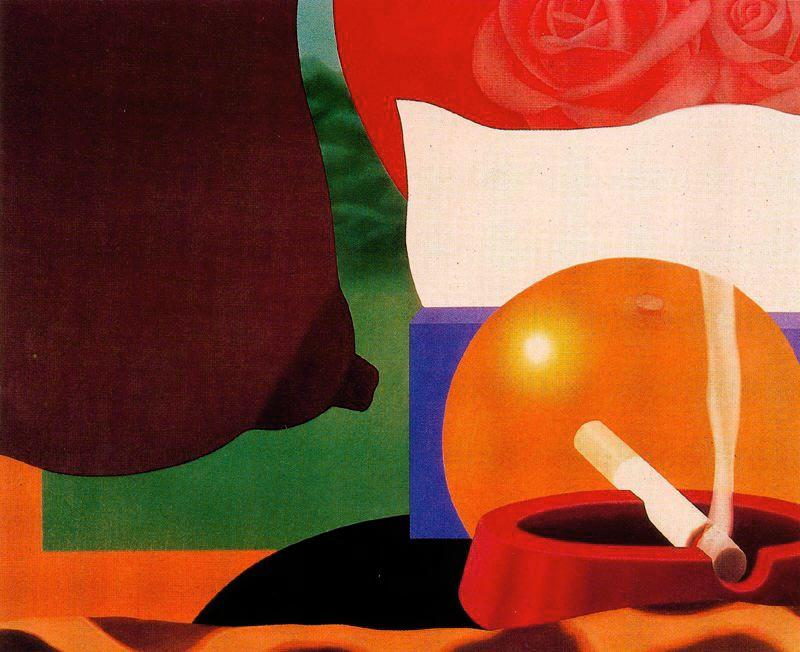 卧室 画  13   通过 Tom Wesselmann (1931-2004, United States)