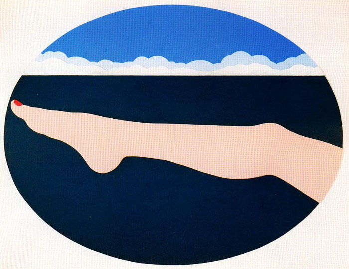 海景 10   通过 Tom Wesselmann (1931-2004, Ohio)