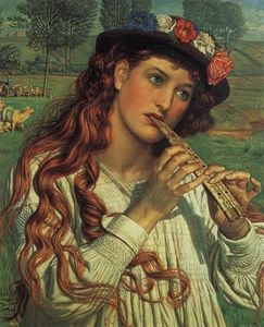 William Holman Hunt - 朱顶红