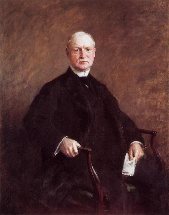 Colesberry帕维斯, 油画 通过 William Merritt Chase (1849-1916, United States)