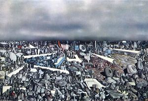 Yves Tanguy - Multiplicatiion  的 弧