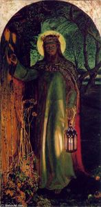 William Holman Hunt -  的 光  的  世界