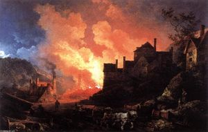 Philip Jacques De Loutherbourg - Coalbrookdale之夜