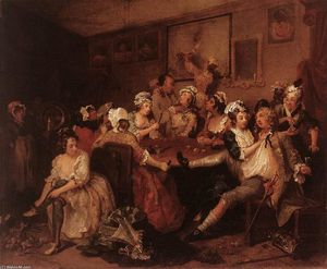 William Hogarth - 的 狂欢