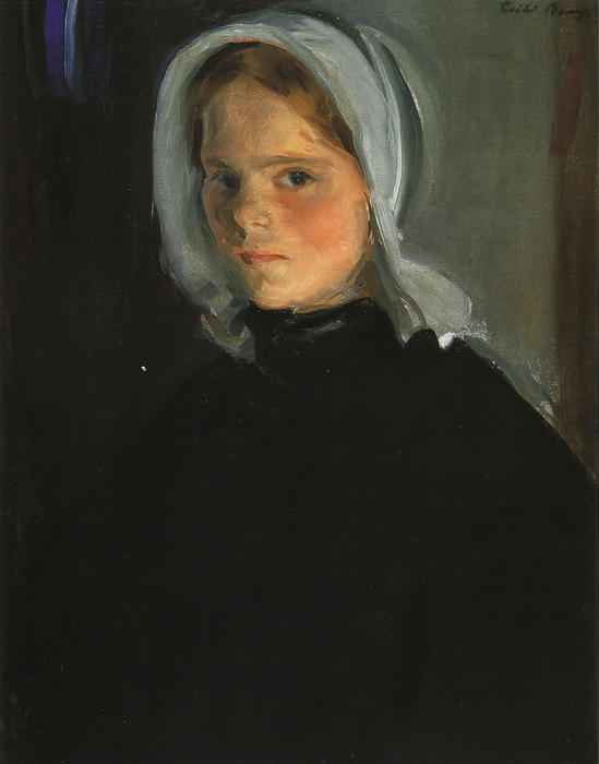 小Lamerche, 油画 通过 Cecilia Beaux (1855-1942, United States)