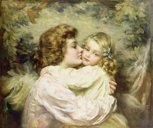 Thomas Benjamin Kennington - 母亲和女儿