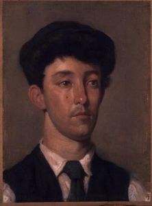 William Newenham Montague Orpen -  肖像  青年