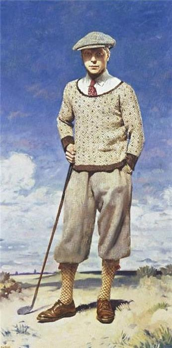 """自画像, 1924 通过 William Newenham Montague Orpen (1878-1931, Ireland)"