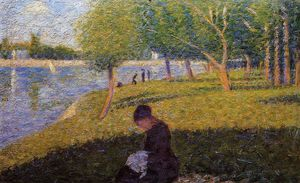 Georges Pierre Seurat - 女人sewint