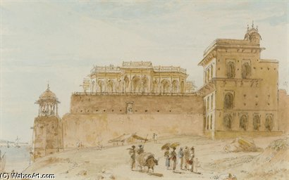 该Chalees Setoon,Ghazipur 通过 Thomas And William Daniell (1769-1837, United Kingdom)
