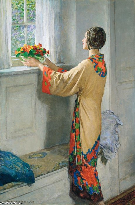 a  新  一天 通过 William Henry Margetson (1861-1940, United Kingdom) | 幀畫冊專輯 | ArtsDot.com
