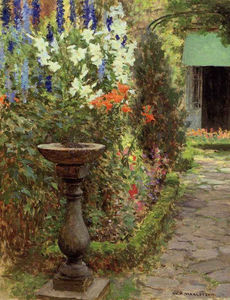 William Henry Margetson - Gardenpath