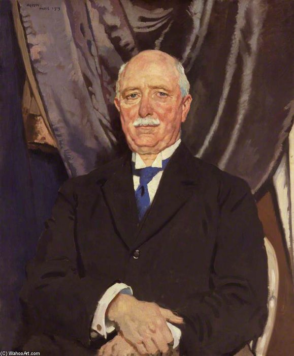 梅西弗格森 通过 William Newenham Montague Orpen (1878-1931, Ireland)