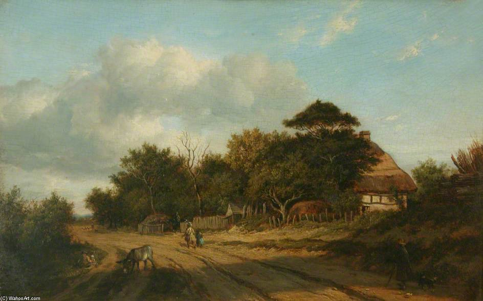 附近德威 通过 Patrick Nasmyth (1787-1831, United Kingdom)