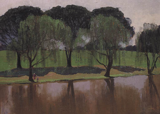 帕拉马塔公园 通过 Elioth Gruner (1882-1939, New Zealand) | ArtsDot.com