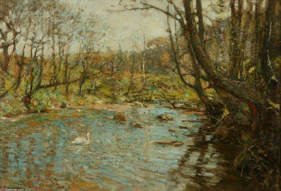 的 溪水 通过 Frederick William Jackson (1859-1918, United Kingdom)