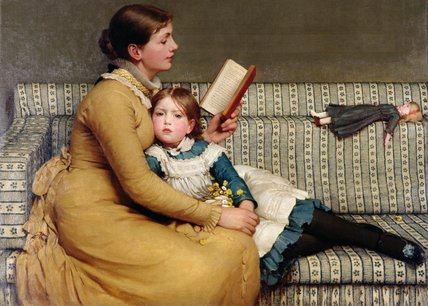 爱丽丝漫游仙境 通过 George Dunlop Leslie (1835-1921, United Kingdom)