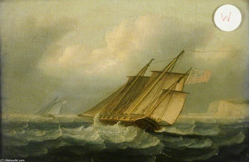 飑 通过 Thomas Buttersworth (1768-1842, United Kingdom)