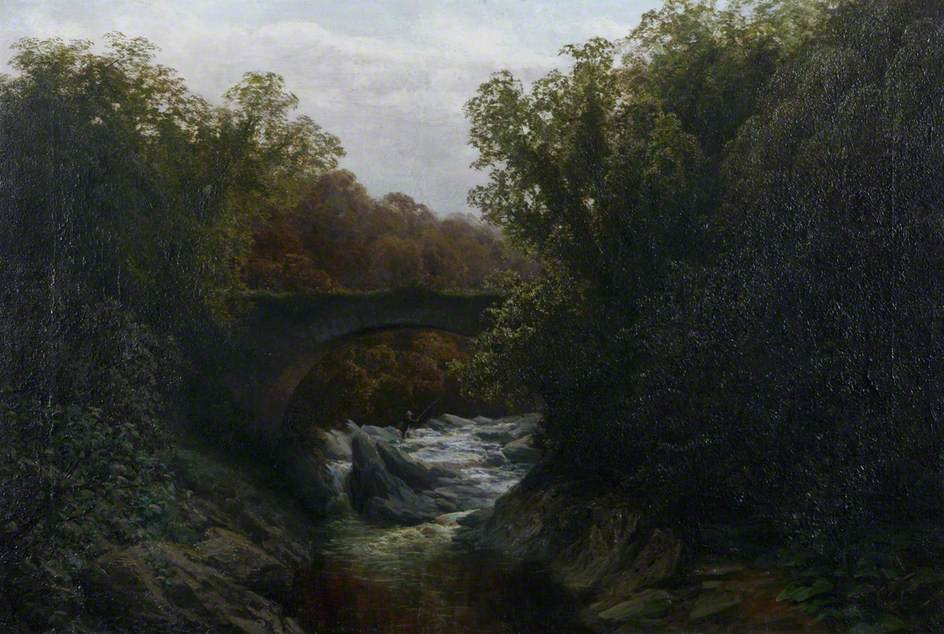旧桥卡利 通过 David Farquharson (1839-1907, United Kingdom) | ArtsDot.com