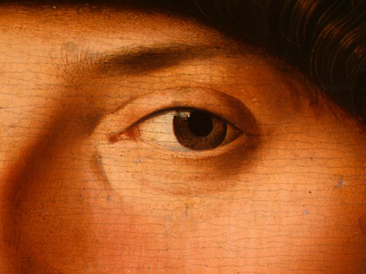 肖像 年轻  男子 , 1475 通过 Antonello Di Giovanni Di Antonio (Antonello Da Messina) (1430-1479, Italy)