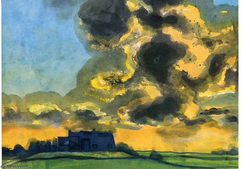 无标题 通过 Emile Nolde (1867-1956, Germany)