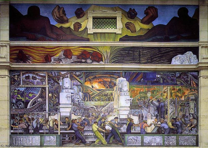 无 (6673) 通过 Diego Rivera (1886-1957, Mexico)