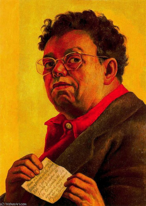 无 (8999) 通过 Diego Rivera (1886-1957, Mexico)
