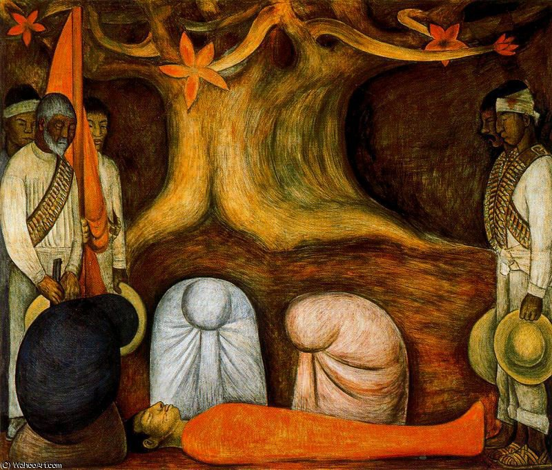 无 (2838) 通过 Diego Rivera (1886-1957, Mexico)