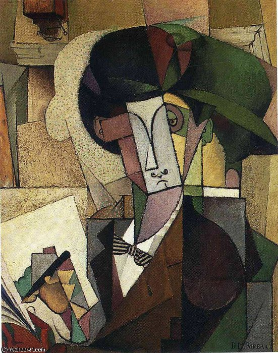 无 (5331) 通过 Diego Rivera (1886-1957, Mexico)