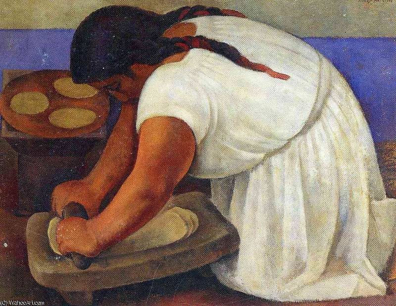 无 (9666) 通过 Diego Rivera (1886-1957, Mexico)